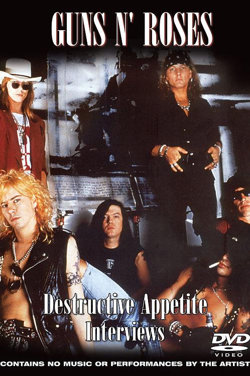 DVD- Guns N Roses: Destructive Appetite