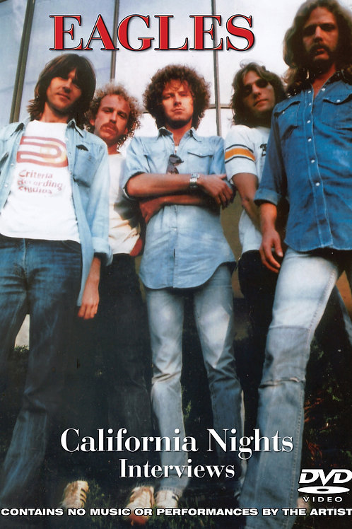 DVD- Eagles: California Nights Interviews