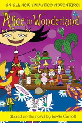 DVD- Alice in Wonderland