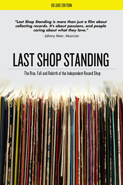 DVD -  Last Shop Standing: The Rise, Fall And Rebirth Of The Independent Record