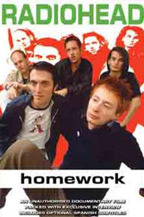 DVD - Radiohead - Homework: Unauthorized
