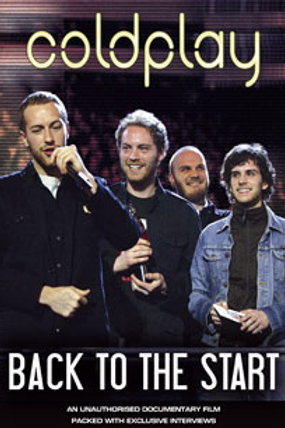 DVD - Coldplay - Back To The Start Unauthorized