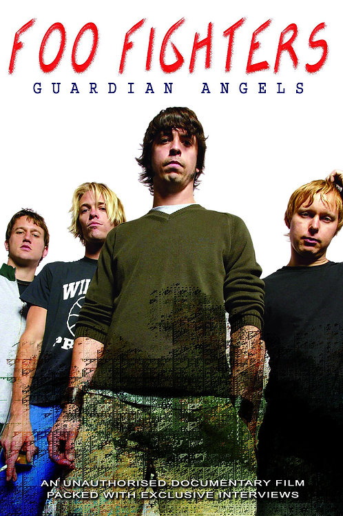 DVD - Foo Fighters - Guardian Angels Unauthorized