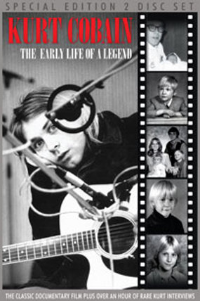 DVD - Kurt Cobain - The Early Life Of A Legend