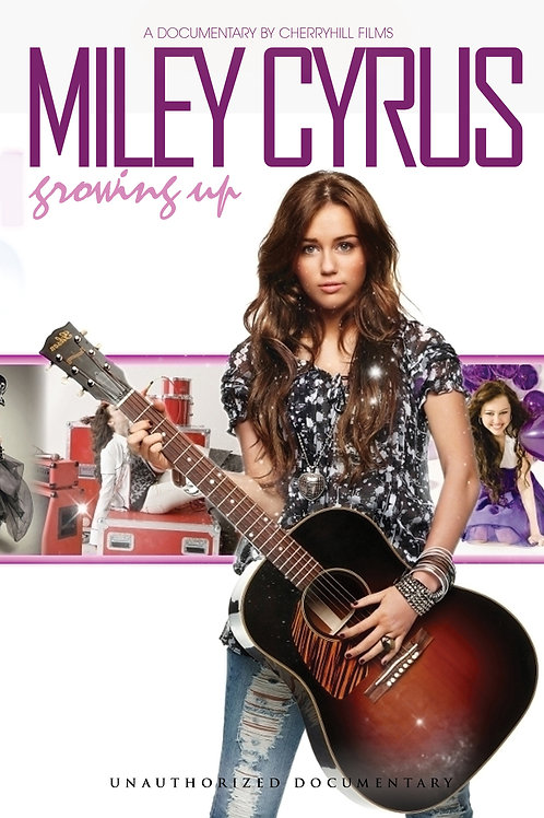 DVD - Miley Cyrus - Growing Up Unauthorized