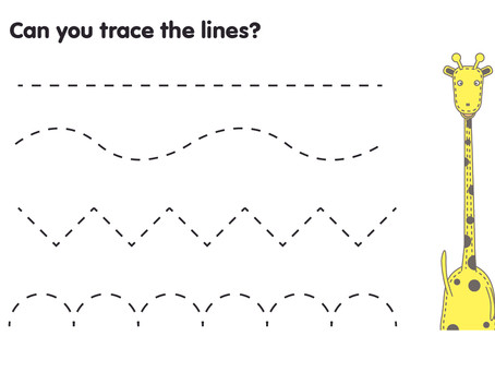 Can you trace the lines?