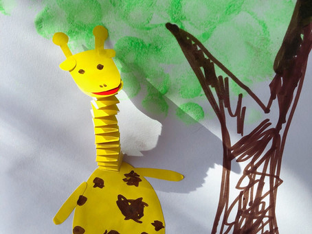 It's a giraffe kind of day 🦒