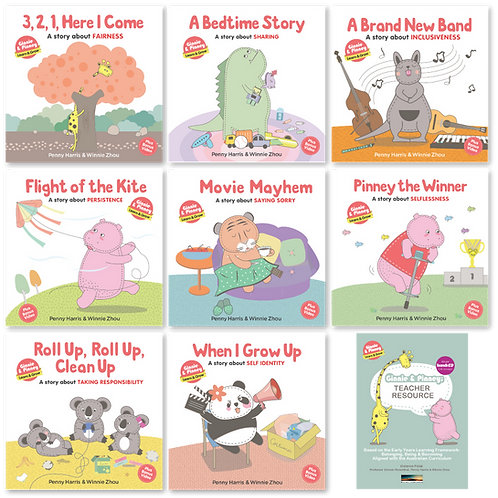 'Learn & Grow' 8 book set + Animated Videos + Teacher Resource PDF