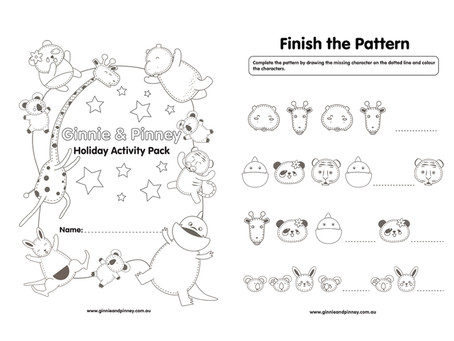 Free School Holiday Activity Pack!!