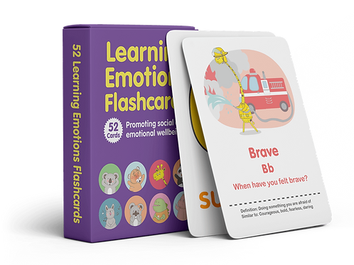 Learning Emotions Flashcards