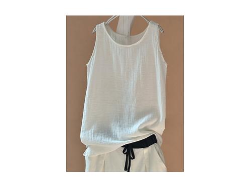 Organic Linen Top