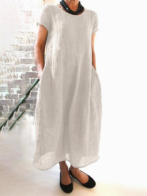 Organic Linen Dress