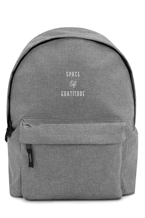 Simple Backpack I Space of Gratitude