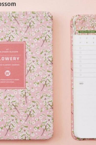 Cherry Blossom Mini Journal