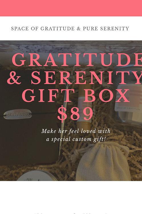 Gratitude & Serenity Gift Box