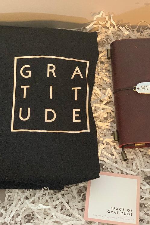 Gratitude Journal & T-Shirt Combo