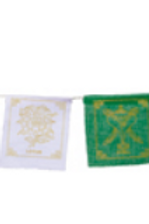 Tibetan Auspicious Symbols Prayer Flag