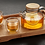 Thumbnail: Glass Teapot Kettle & Tea Cups