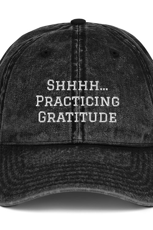 Vintage Cap | Practicing Gratitude