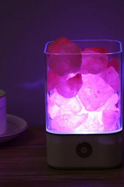 Salt Rocks Lamp