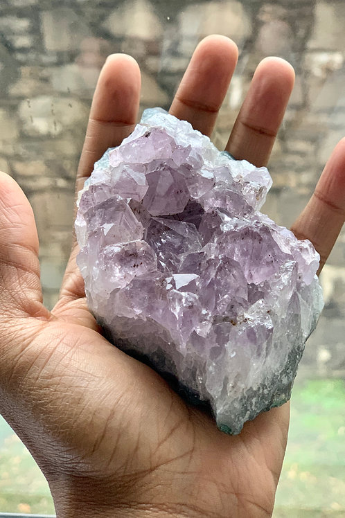 Meditation Healing Amethyst Stone