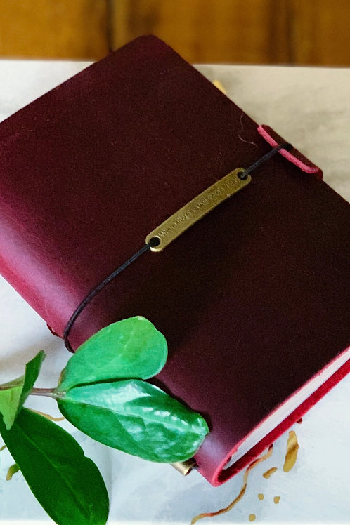 Gratitude Leather Journal