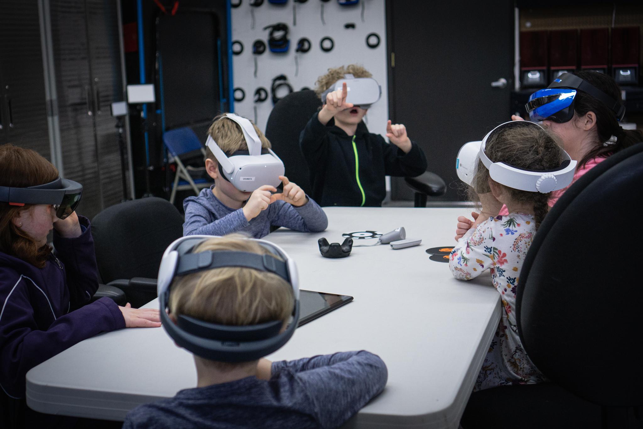 Kids VR Coding Course (Tuesdays 3pm)