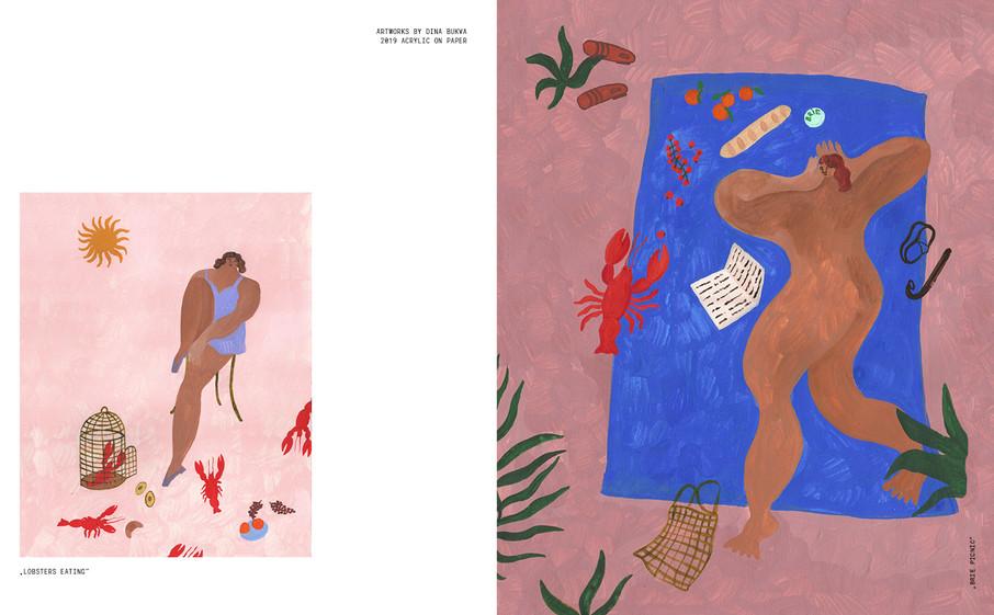 Terrible Magazine issue 02, Dina Bukva