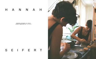 Terrible Magazine issue 02, Interview Hannah Seifert