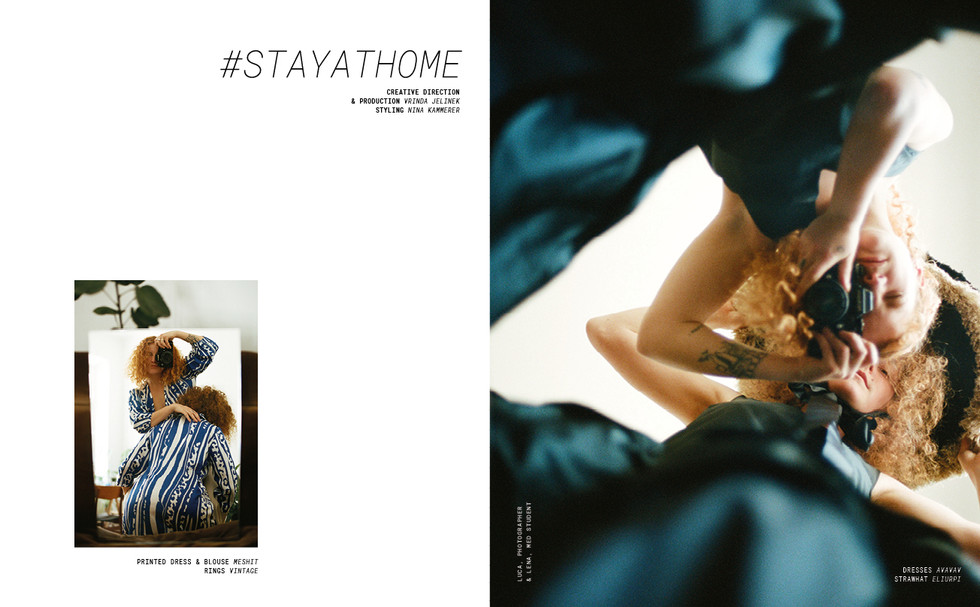 Terrible Magazine issue 02, Stay Home