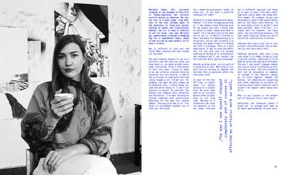 Terrible Magazine issue 01, Interview Mariella Lehner