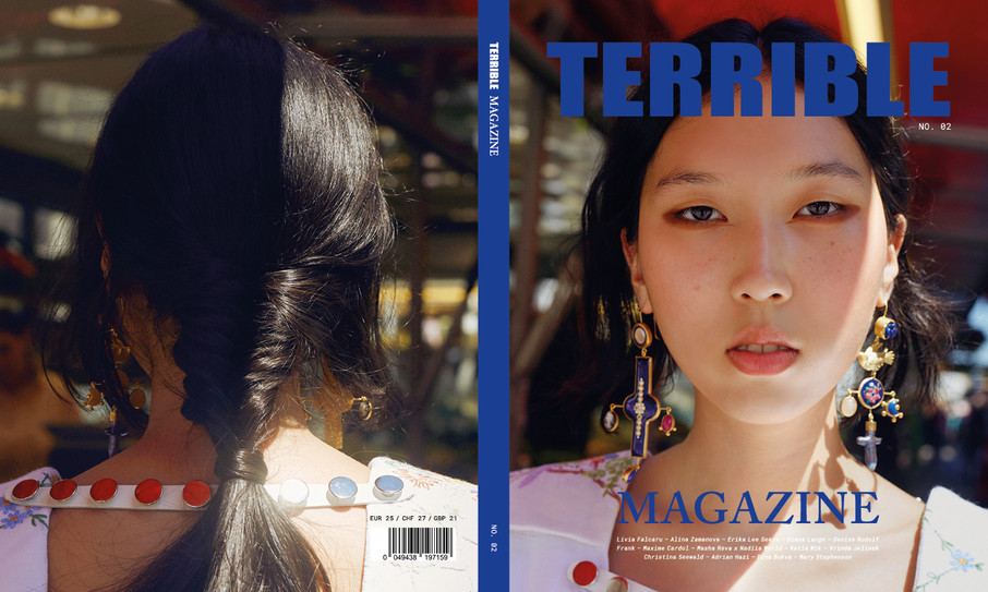 Terrible Magazine issue 02. Cover