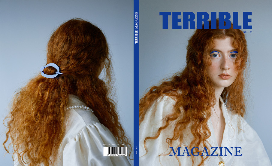 Terrible Magazine issue 01. Cover