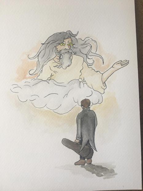 """Илюстрация от книга """"Малки коледни приказки"""""""