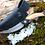 Thumbnail: Нож складной  «Волна» из дамасской стали с рукоятью из карельской березы