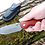 """Thumbnail: Нож складной """"ЕГЕРЬСКИЙ"""" из дамасской стали"""