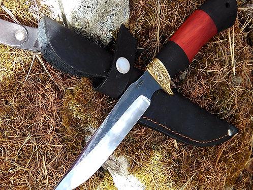 "Охотничий нож ""Ягуар"" со следами ковки"