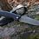 """Thumbnail: Нож складной """"АКТАЙ-2"""" из кованой дамасской стали"""