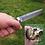 """Thumbnail: Нож """"Универсал"""" дамаск с литьем из мельхиора"""