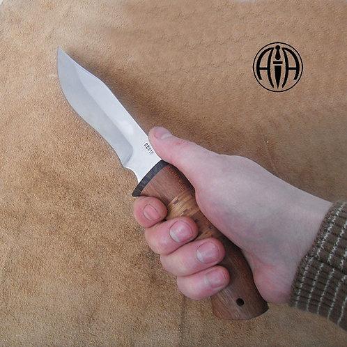 "Кованый нож ""Леший"" сталь 95х18"