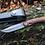 """Thumbnail: Нож складной кованый """"ХРАБРЕЦ"""" с клинком из дамасской стали"""