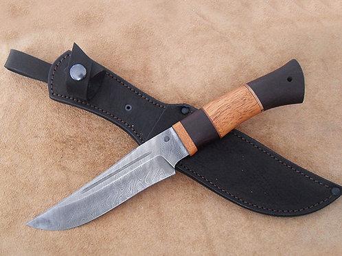 """Охотничий нож """"Таежный"""" из дамасской стали"""