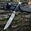 """Thumbnail: Нож Финка """"НКВД"""" из кованой стали 95Х18 с литьём из мельхиора, рукоять граб"""