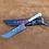 "Thumbnail: Кухонный нож ""Пчак"", клинок 115мм, рукоять кость"