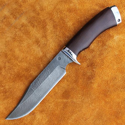 """Нож """"Гарсон"""" дамаск мельхиор"""
