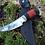 "Thumbnail: Кованый нож ""Акула"" с литьем из латуни"