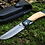 """Thumbnail: Нож складной """"КАЙРОС"""" с клинком из дамасской стали"""