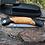 Thumbnail: Нож складной КАЙРОС  с клинком из дамасской стали