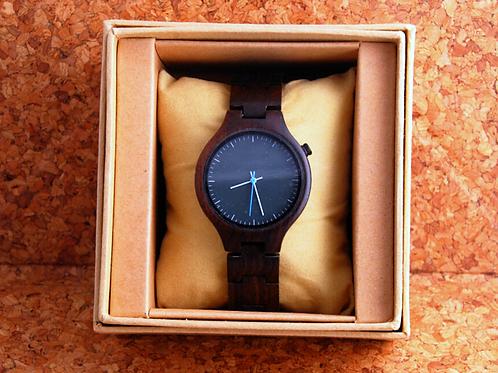 Деревянные наручные часы Темный сандал