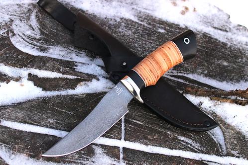 Нож охотничий из булатной стали